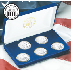 Milestone Silver Dollar Tribute Set  Model# 20171W