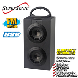 Bluetooth Speaker with USB&nbsp;&nbsp;Model#&nbsp;SC-1313BT