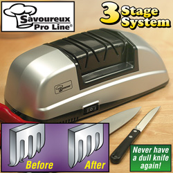 Savoureux Pro Line ® Knife Sharpener  Model# KS02