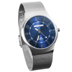 Swiss Spirit Blue Dial Watch  Model# 80003-7