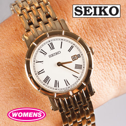 Seiko Goldtone Watch&nbsp;&nbsp;Model#&nbsp;SXB420P1