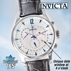 Invicta Vintage Chronograph Watch  Model# 12234