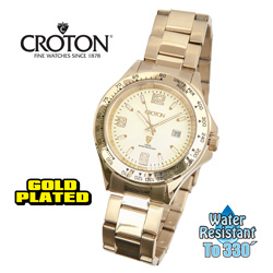 Croton Heritage Gold Watch  Model# CA301253YLCH