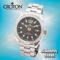 Croton Watch  Model# CA301243SSBK