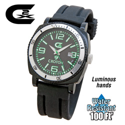 Croton CX2 Sports Watch - Green  Model# CX328007BSGR