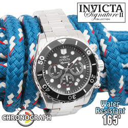 Invicta Signature Chronograph Watch  Model# 7366