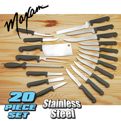 Maxam 20 Piece Cutlery Set&nbsp;&nbsp;Model#&nbsp;CTMAX20