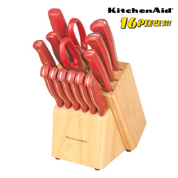 Kitchen Aid 16-Piece Cutlery Set  Model# 5072454