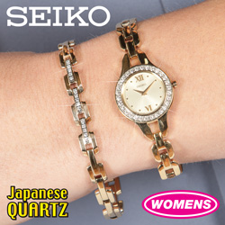 Seiko Watch/Bracelet Set  Model# SUJG68