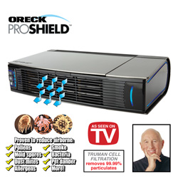 Oreck Pro Shield Air Purifier&nbsp;&nbsp;Model#&nbsp;RAIR12B