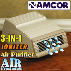 Amcor Ionizer Air Cleaner/Purifier  Model# AM58