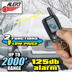 Alert LCD 2 Way Remote Starter/ Security System  Model# 750R