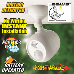 Mr. Beams Motion Activated Security Spotlight  Model# MB330