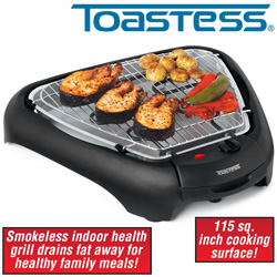 Toastess Smokeless Indoor Grill  Model# THG-489