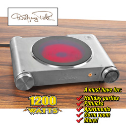 Wolfgang Puck Infrared Burner&nbsp;&nbsp;Model#&nbsp;BISB0010