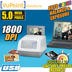 VuPoint Digital Photo Scanner  Model# PS-C500VP-RB