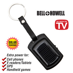Bell &amp; Howell Solar Charger&nbsp;&nbsp;Model#&nbsp;8791