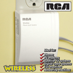RCA Wireless AC Phone Jack  Model# RC940