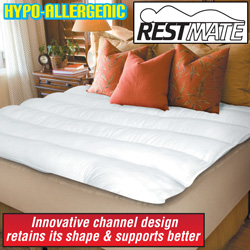 Restmate Mattress Topper&nbsp;&nbsp;Model#&nbsp;92566