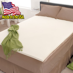 Memory Foam Mattress Topper&nbsp;&nbsp;Model#&nbsp;1712100TWIN