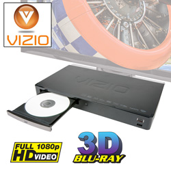 Vizio 3D/Blu-Ray Player  Model# VBR133