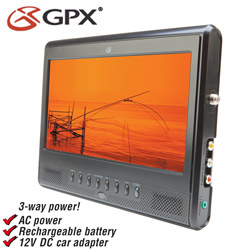 GPX 9 inch Portable TV  Model# TL909B
