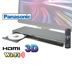 Panasonic 3D/Blu-Ray Player  Model# DMP-BDT220