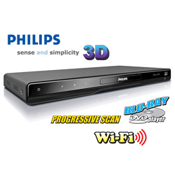 Philips 3D/Blu-Ray Player  Model# BDP5506