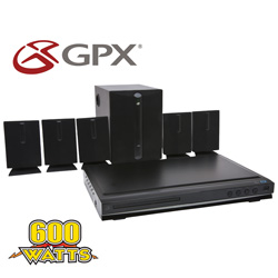 GPX 5.1 Blu-Ray Home Theater System&nbsp;&nbsp;Model#&nbsp;HTB601BDL