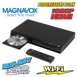 Magnavox Blu-Ray with Wi-Fi  Model# RMBP-5130/F7