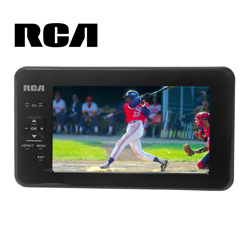 RCA 7 inch Portable Digital Television  Model# RTV86073