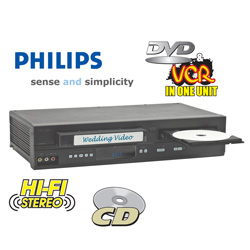 Philips DVD/VCR Combo  Model# DVP3345VB