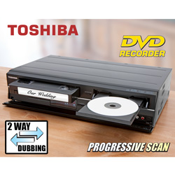 Toshiba DVD Recorder/VCR  Model# DVR620