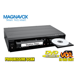 Magnavox Upconverting DVD Recorder/ VCR Combo  Model# RZV427MG9
