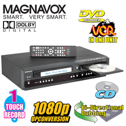 Magnavox DVD Recorder/VCR  Model# ZV427MG9