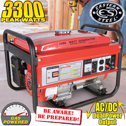 3300W Carb Gas Generator&nbsp;&nbsp;Model#&nbsp;KJ3000A