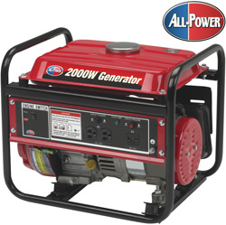 2000W All-Power Gas Generator&nbsp;&nbsp;Model#&nbsp;INT