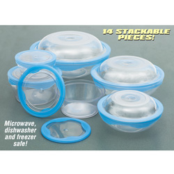 14 Piece Air Tight Storage Set&nbsp;&nbsp;Model#&nbsp;317211854321
