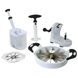 5-Piece Fruit & Vegetable Prep Set  Model# KCS5