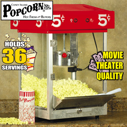 Table Top Coney Island Popcorn Maker  Model# 52772