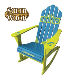 Cabo Adirondack Rocking Chair&nbsp;&nbsp;Model#&nbsp;JC0804-1 PAINTED