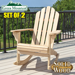 Adirondack Rocking Chairs -  Set of 2  Model# JC0804-1