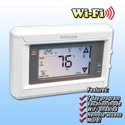 Programmable Thermostat with WiFi&nbsp;&nbsp;Model#&nbsp;GN50E