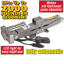 12V DC Electric Car Jack  Model# Q-HY-1500S