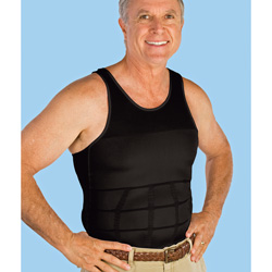 Black Mens Body Shaper  Model# 01-00078