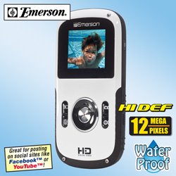 Emerson HD Video Camera  Model# EVC1800