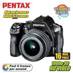 Pentax SLR Digital Camera&nbsp;&nbsp;Model#&nbsp;K30 SLR KIT