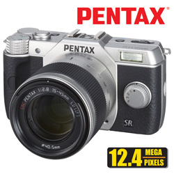 Pentax 12.4MP Digital SLR Camera  Model# Q10-SILVER