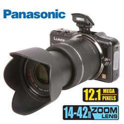 Panasonic 12.1MP SLR Lumix Camera  Model# DMC-GF3