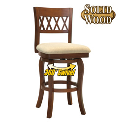 29 Inch Wood Bar Stool  Model# K4310.29